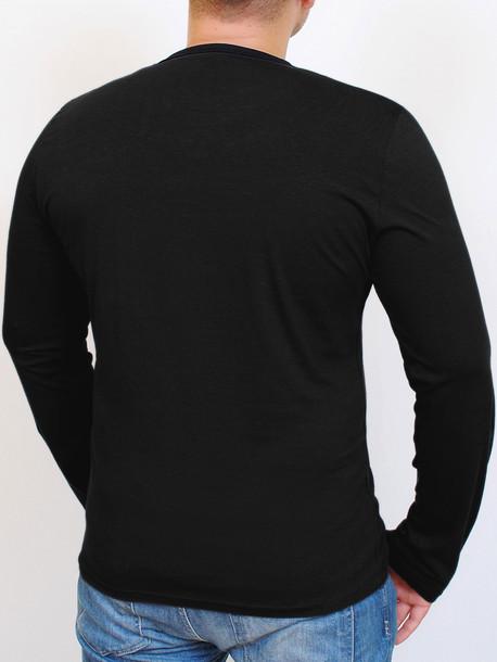 LIBERTY футболка длинный рукав черный
