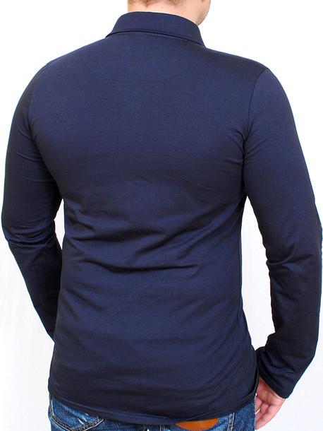 DUKE LONG футболка длинный рукав т.синий