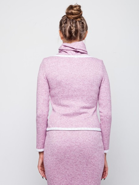 Медина кофта розовый