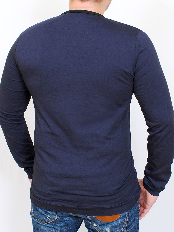 BRUT футболка длинный рукав черный