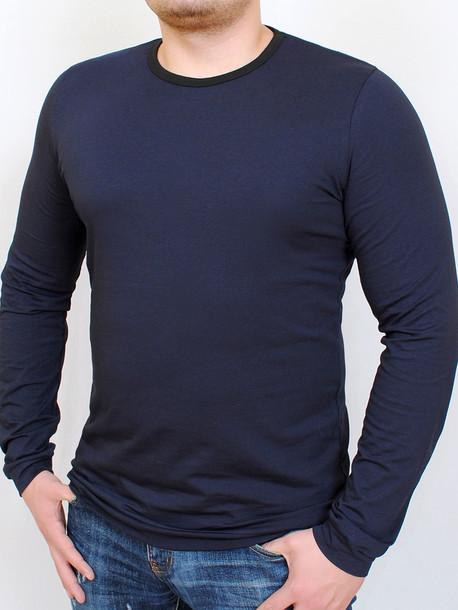 BRUT футболка длинный рукав т.синий