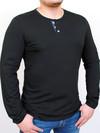 PRIDE футболка длинный рукав черный с графитом
