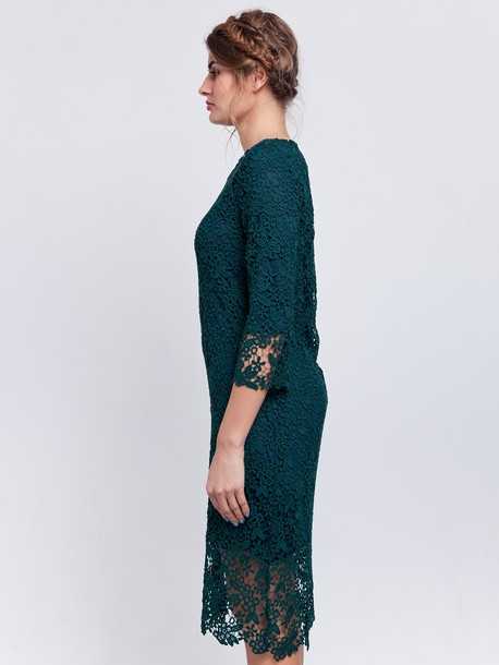 Орфея платье зеленый