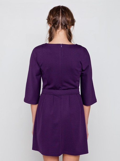 Сент платье фиолетовый