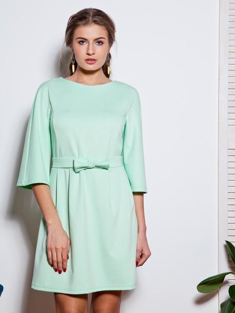 Сент платье мятный