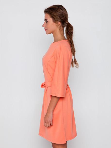 Сент платье оранжевый