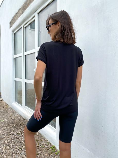 Дея футболка черный