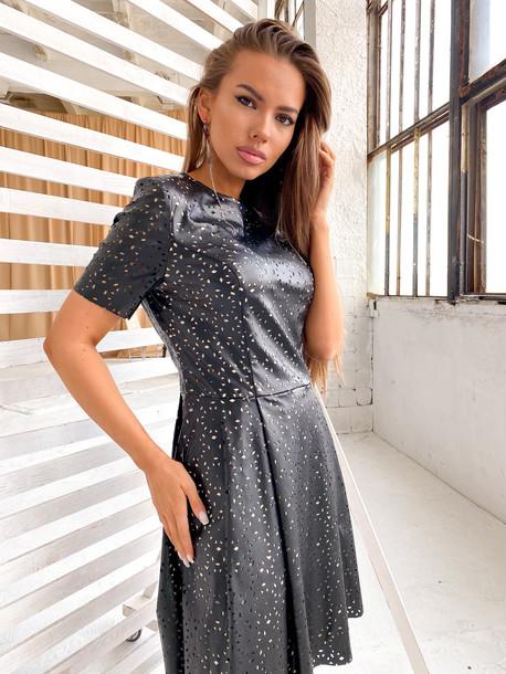 Этюд платье черный