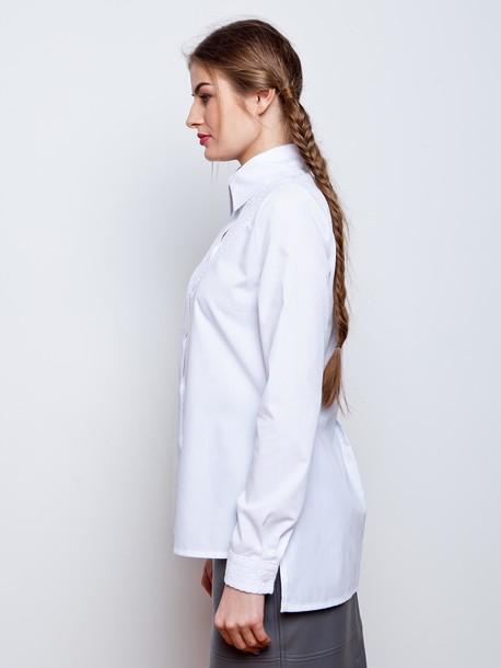 Сиверия блуза белый