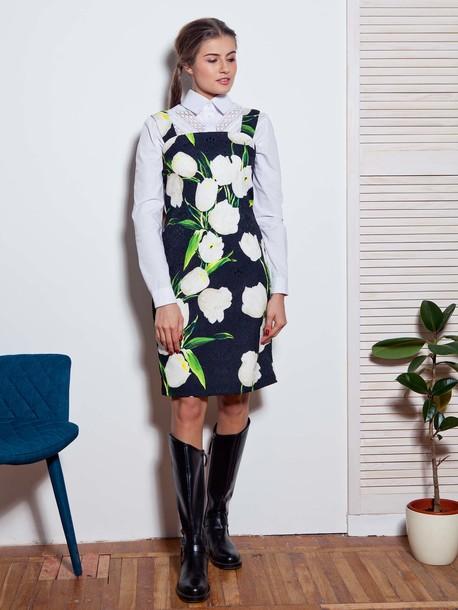Дижон платье тюльпан