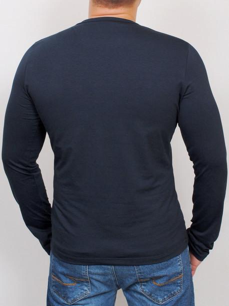 BROWN LONG футболка длинный рукав т.синий