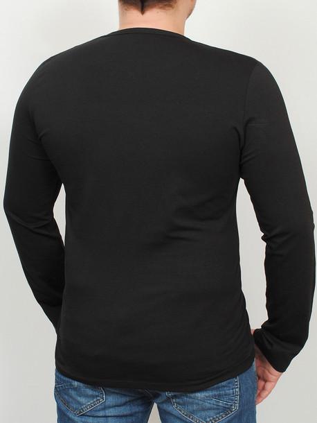 SPACE LONG футболка длинный рукав черный