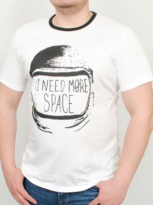 SPACE футболка белый