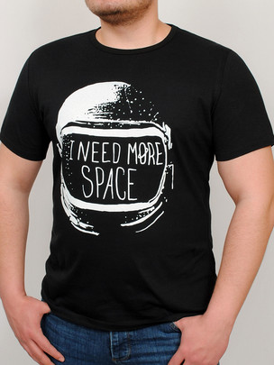 SPACE футболка черный