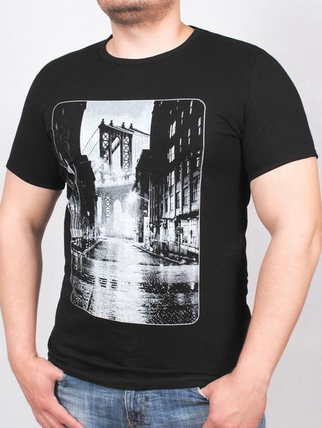 BROOKLYN футболка черный