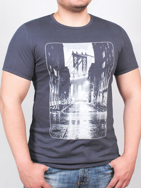 BROOKLYN футболка графит