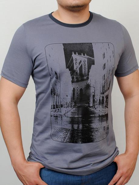 BROOKLYN футболка стальной