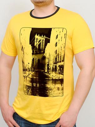 BROOKLYN футболка желтый
