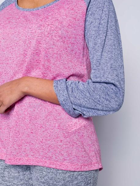 Хельга футболка розовый