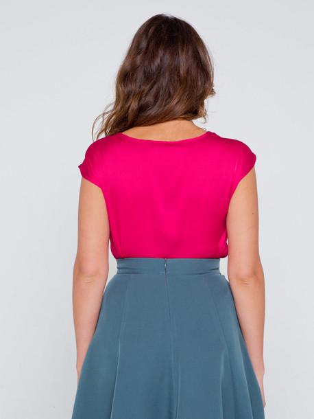 Ясмина блуза амарант