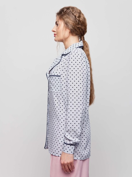 Аврелия блуза белый