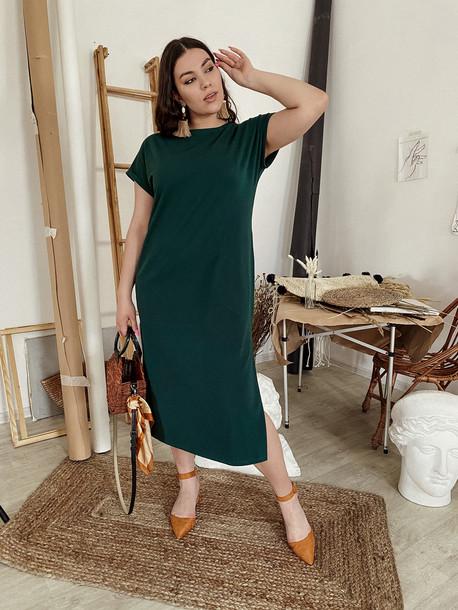 Силика TRAND платье изумрудный