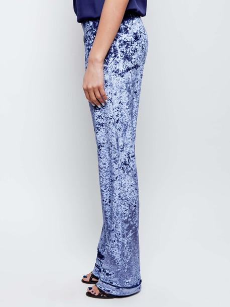 Остин брюки фиолетовый