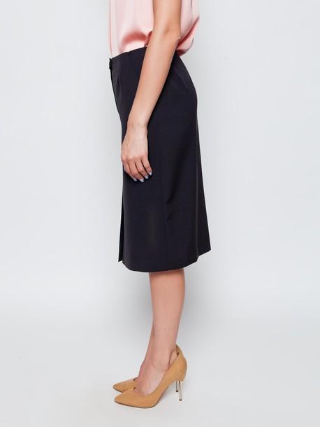 Твилла юбка оникс