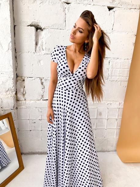 Винтер платье белый