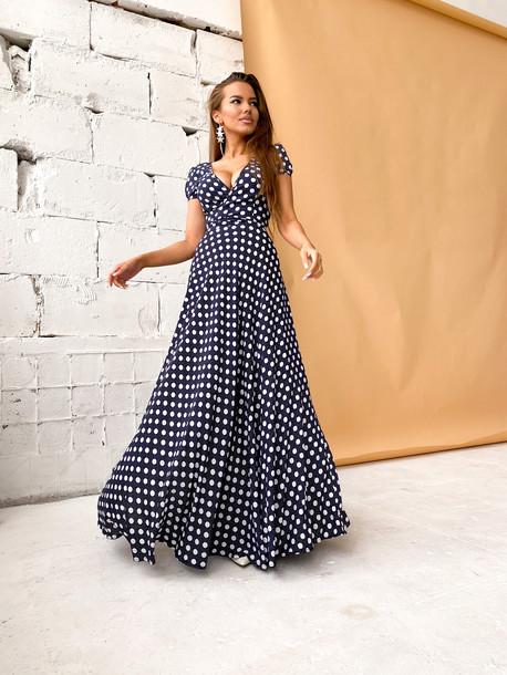 Винтер платье чернильный