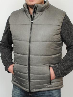 ORLEAN жилет серый-меланж