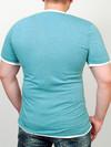 INDIAN футболка зеленый-меланж
