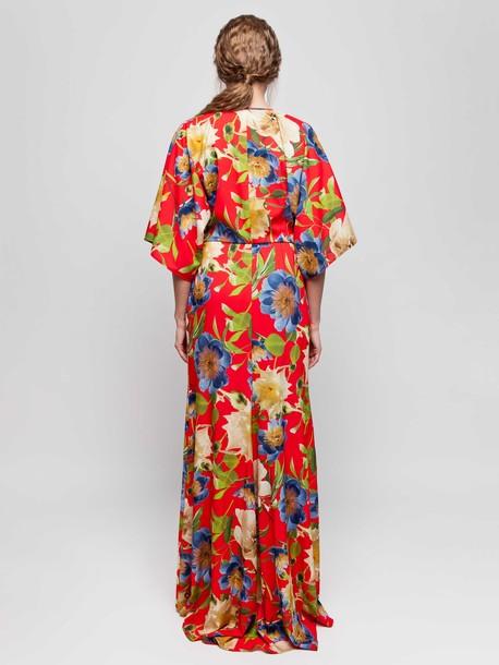 Коринн платье кармин
