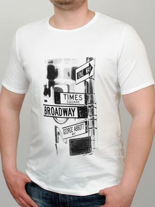 BROADWAY футболка белый
