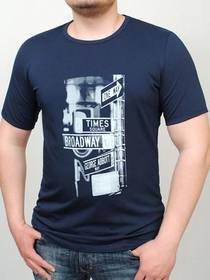 BROADWAY футболка т.синий