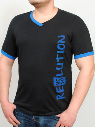 REVOLUTION футболка черный