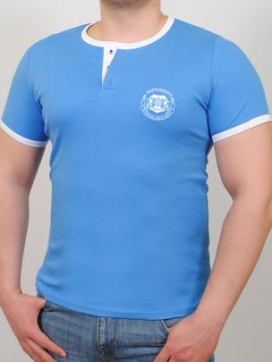 SOTTOVENTO футболка бирюза-белый