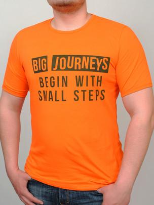 JOURNEY футболка оранжевый