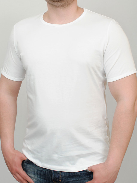 MIDDLE футболка белый