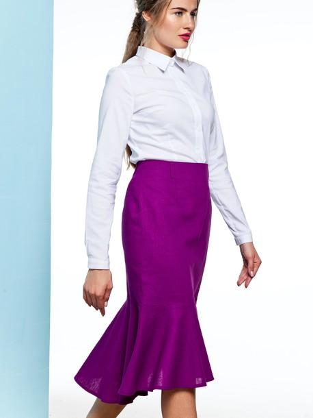 Доминика юбка аметист