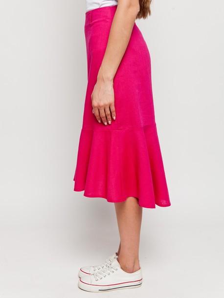Доминика юбка рубин