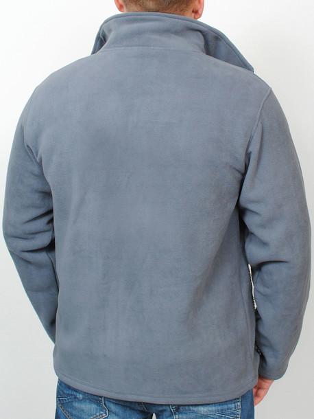 BARCELONA толстовка графит-св.серый