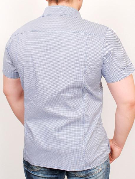 SICILIA рубашка мелкая клетка