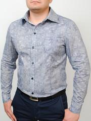 AMSTERDAM рубашка длинный рукав абстракция