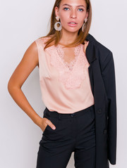 Мариша блуза персиковый