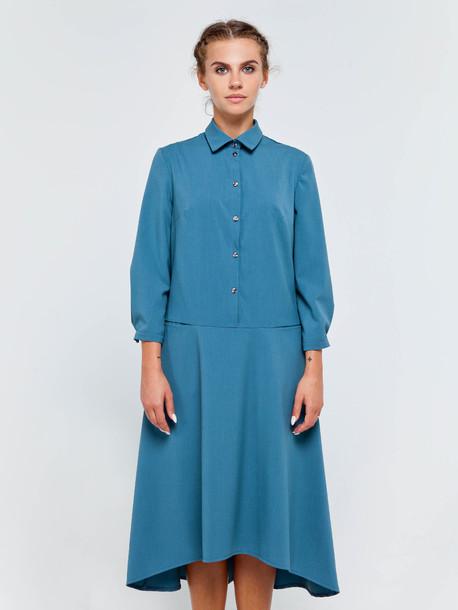 Тереза платье аквамарин