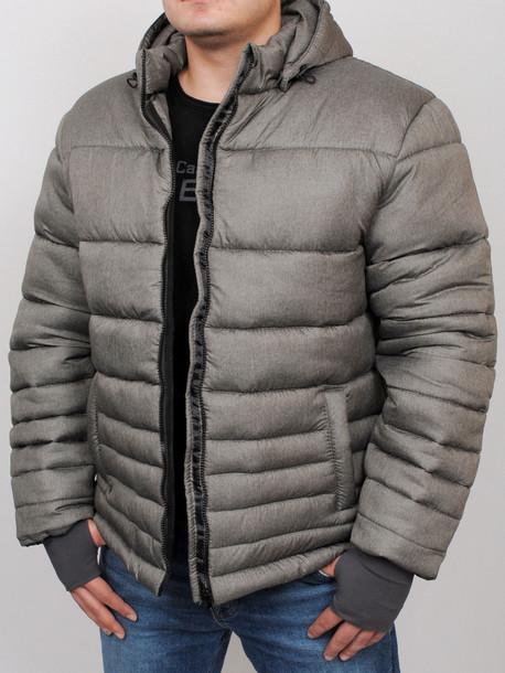 FALCON куртка серый-меланж