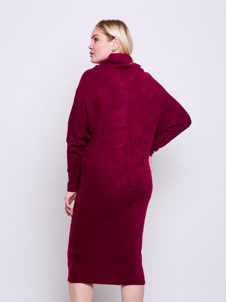 Прайда платье рубин
