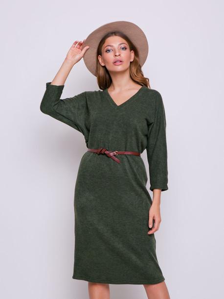 Ева платье мох