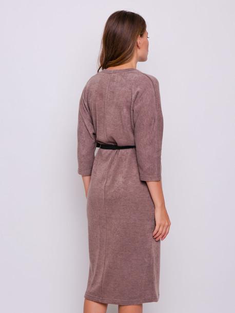 Ева платье мокко
